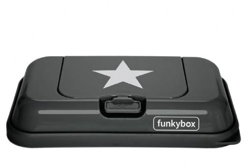Funkybox To Go - Dark Grey Star